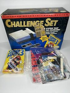 Nintendo NES Challenge Set Box, Game Case Manuel and Inserts Only!