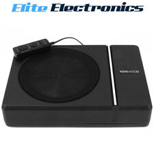 """Kenwood KSC-PSW8 8"""" 250W Compact Powered Slim Profile Car Subwoofer"""