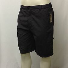 NWT Men's Cargo Shorts  Quick Dry CANYON Large L Charcoal 100% Nylon