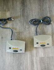Set of 2 Radio Shack 43-3105 FM Wireless 3-Channel Intercom Units