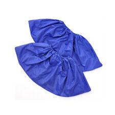 Men Women Kids Outdoor Waterproof Rain Shoe Covers Overshoes Reusable Rgfr BHL Blue