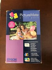 New Epson T5846 PictureMate Print Pack Cartridge & 150 Sheets Of Photo Paper-A
