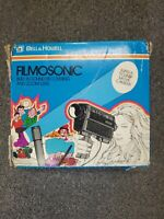 Vintage Bell & Howell 1236 Filmosonic XL Super 8 Movie Camera collectable
