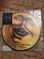 "Panic At The Disco - I Write Sins Not Tragedies   7"" Picture Disc Vinyl Rare OOP"