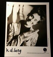 KD LANG 1988 ~ PROMOTIONAL MUSIC PUBLICITY PHOTOGRAPH