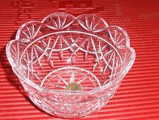 LEADED CRYSTAL GLASS BOWL FRANCE  CRISTAL D'ARQUES  5 INCHES