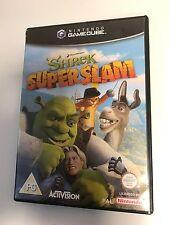 * Nintendo Gamecube Game * SHREK SUPER SLAM * Cube Wii