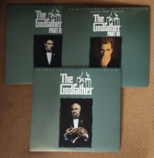The Godfather 1 2 3 Laderdisc Set.  Remastered Widescreen Dolby Digital