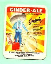sous-bock bière GINDER - ALE bierdeckel coaster bierviltje Lot 1574