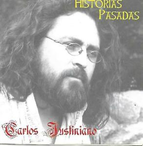 CARLOS JUSTINIANO Historias Pasadas Kultrun Ediciones Chile Folk Pop rare CD m-