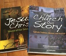 High School Level Religious books, Softcover, Theology, Look, 2 Books, Softcover