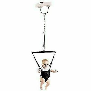 Jolly Jumper Baby Exerciser 13Month to Walking age Black Door clamp not included