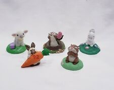 Lot of 5 Hallmark Easter Merry Miniatures Includes Flocked Lamb