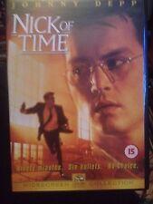 Nick Of Time (DVD, 2002) johnny depp