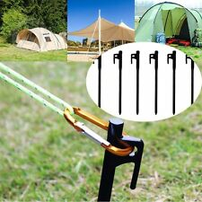 20cm Sturdy Black Cast Iron Awning Accessories Tent Peg Canopy Stake Nail