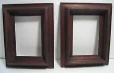antique pair Victorian Eastlake Thick Wood FRAMES
