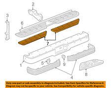 GM OEM Rear Bumper-Step Pad Protector Guard Sill Plate Right 15574122