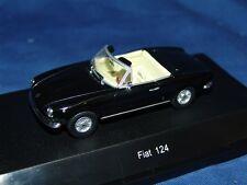 FIAT 124 SPIDER BLACK 1:43 STARLINE