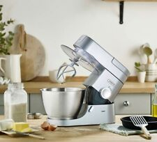 Kenwood Chef Kitchen Mixer KVC3100S Silver+Gift: Food Processor, Acrylic bender