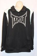 Boy's TAPOUT  Track Jacket Size 18/20 Black/White NWOT