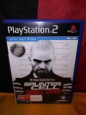 Tom Clancy's Splinter Cell: Double Agent - Sony PS2 PAL - Includes Manual