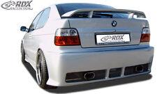 """RDX Stoßstange BMW E36 Compact """"GT4"""" Heck Schürze Hinten Spoiler"""