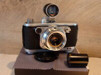 Robot Foto& Elektronik - Recorder 24 Systemkamera Xenar 2.8/45 - Sammlerstück!
