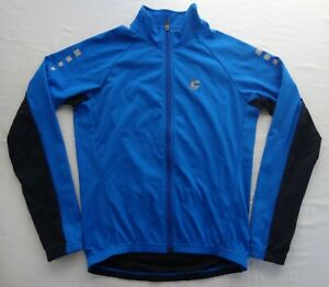 Cannondale Chrono M Full Zip Cycling Jacket Jersey Soft Shell Pocket Stretch