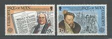 I.O.M 1982 EUROPA HISTORIC EVENTS SG,216-217 UM/M N/H LOT R595
