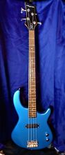 Dean Playmate 4 String Electric Bass Guitar - Baby Blue - USED