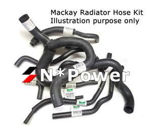 MACKAY Radiator Hose Kit FOR Nissan PATROL GU Y61 TD42TI 4.2L INTERCOOLED 02-07