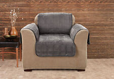 Sure Fit Deluxe Chair Furniture Cover (with arms) Non-Slip - Mini Check