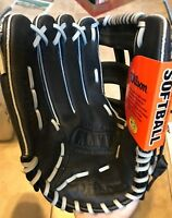 "Wilson 13"" WTA2449 A2449 Elite Black Leather Baseball Glove LHT Lefty NEW w/ Tag"