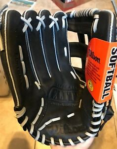 "Wilson 13"" WTA2449 A2449 Elite Black Leather Baseball Glove LHT Lefty NEW w/ Tag"