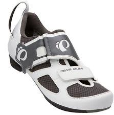 Pearl Izumi Women's Tri Fly V Triathlon Cycling Shoes White/Black - 36.5