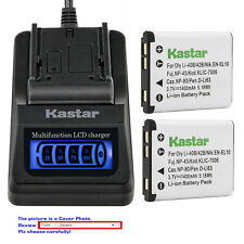 Kastar Battery LCD Quick Charger for Fujifilm NP-45A 45B 45S Fuji FinePix JZ100