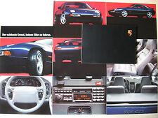 Muy raro folleto Book Porsche 928 GTS 5,4 350 CV Edition 928 modelo 1995 D