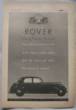 1944 Rover Original advert No.5