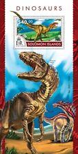 SOLOMON ISLANDS  2015  dinosaurs