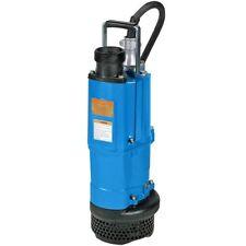 Tsurumi Submersible Water Pump 3-inch Discharge 210 GPM High Volume 23303