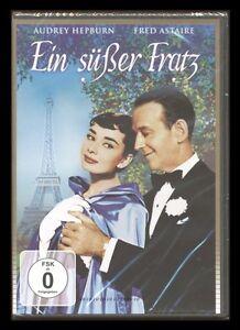 DVD EIN SÜSSER FRATZ - AUDREY HEPBURN + FRED ASTAIRE (Musical) *** NEU ***