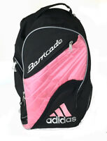 VTG 90s Adidas Barricade Pink Black Backpack Bag Tennis Sports