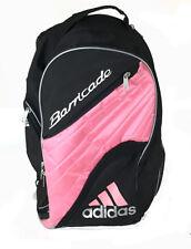 Vintage 90s Adidas Barricade Pink Black Backpack Bag Tennis Sports