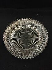 Crystal Ash Tray Or Maybe Candy Dish Absolutely Beautiful Piece!