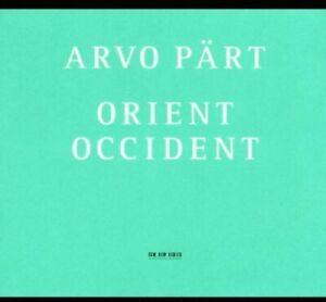 Arvo Part: Orient & Occident (CD, Oct-2002, ECM)