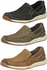 Clarks Slip On 100% Leather Shoes for Men