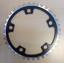 36T BCD:110 Chainring Chain Ring BMX Track Fixie Road Single Speed Bike black
