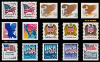 2593-94 2595-99 2602-04 2605 2606-08 2609 Regular Issues Set of 15 MNH - Buy Now
