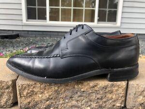 Men's Allen Edmonds Dainite Moc Toe Leather Oxfords Size 9.5 D