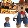 West Cowboy Dog Riders Jean Costume Pet Clothes Harness Poodle Dog Apparel